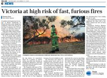 Bushfire season is here, the fire crews are ready - are you