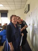 Sandra Slatter and MRM on scenario day